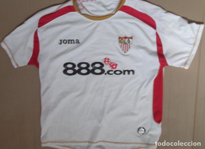 camisetas de futbol Sevilla FC online