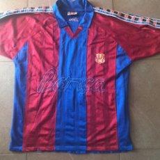 Coleccionismo deportivo: CAMISETA DE ENTRENO ENTRENAMIENTO FC BARCELONA FCB BARÇA 1992/95 KAPPA MUY RARA DE REJILLA XL. Lote 130052746