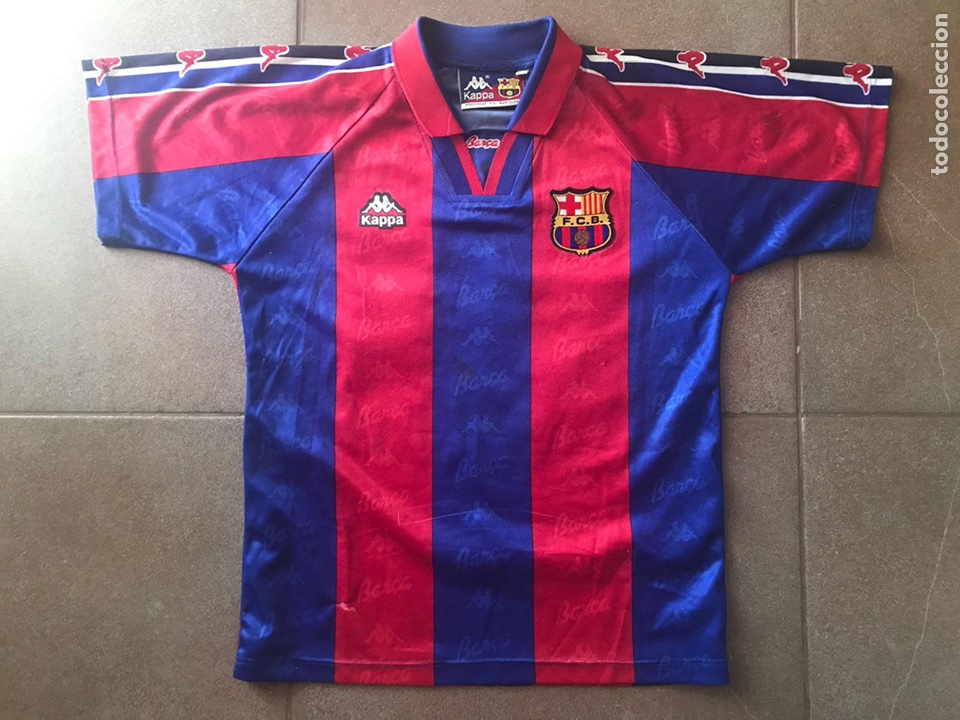 75de22927ece3 Coleccionismo deportivo  CAMISETA FCB FC BARCELONA BARÇA KAPPA talla 10  LUIS ENRIQUE muy buen estado