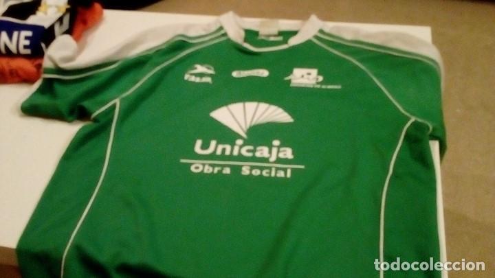 CAJ-98TG43 CAMISETA DE FUTBOL VERDE MARCA RASAN NO APARECE TALLA MAS O MENOS MEDIANA (Coleccionismo Deportivo - Ropa y Complementos - Camisetas de Fútbol)