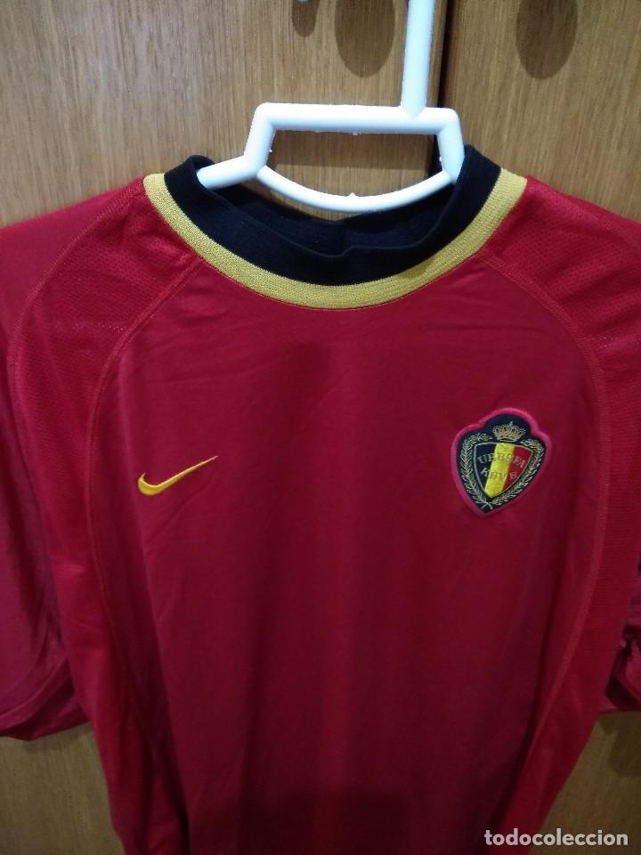 650be57f Coleccionismo deportivo: Camiseta selección de Bélgica. - Foto 2 - 130308118