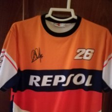 Sports collectibles - Pedrosa MOTO MOTOGP RACING L Camiseta futbol football shirt fussball trikot - 130432742