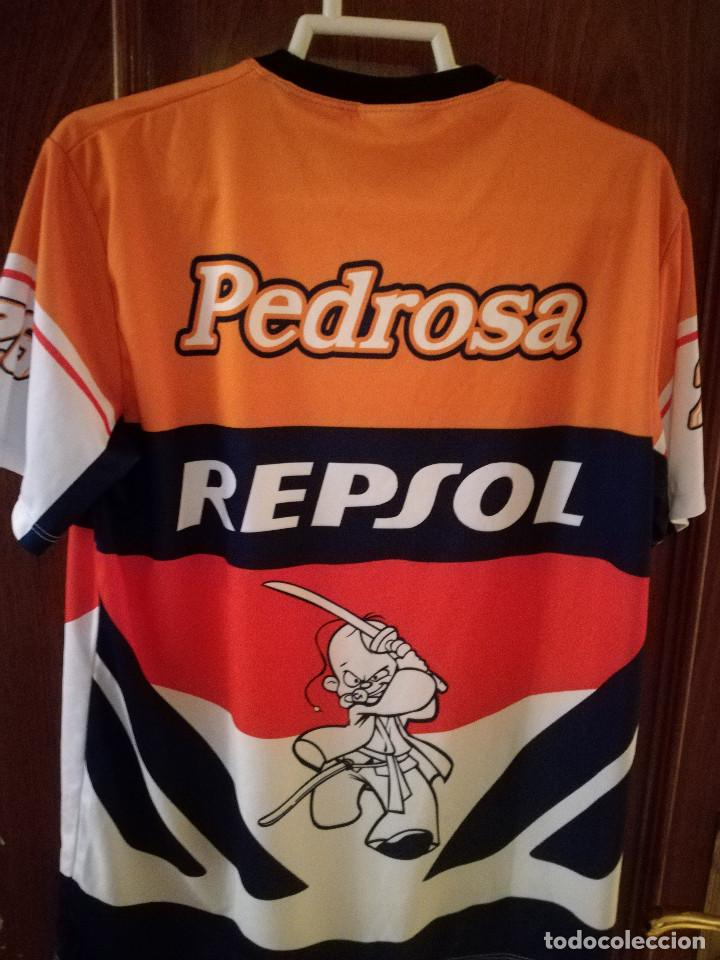 Coleccionismo deportivo: Pedrosa MOTO MOTOGP RACING L Camiseta futbol football shirt fussball trikot - Foto 2 - 130432742