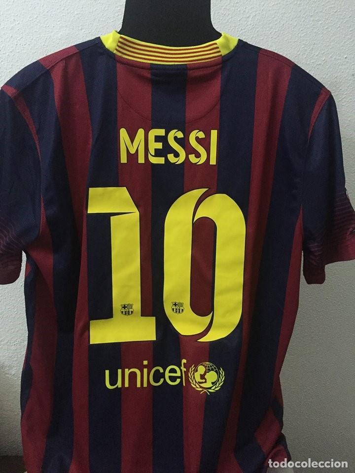 Coleccionismo deportivo  CAMISETA FC BARCELONA FIRMADA POR LEO MESSI - Foto  2 - 130447258 f6e6b506962