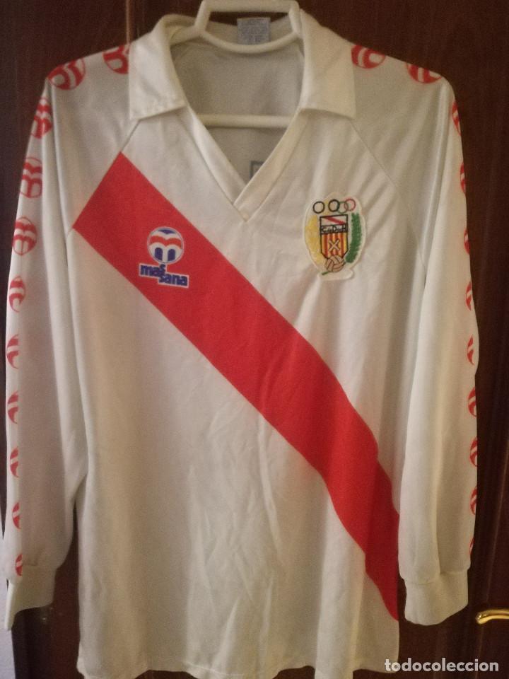 CD HOSPITALET CF 1980 L MASSANA MATCH WORN CAMISETA FUTBOL FOOTBALL SHIRT FUSSBALL TRIKOT (Coleccionismo Deportivo - Ropa y Complementos - Camisetas de Fútbol)