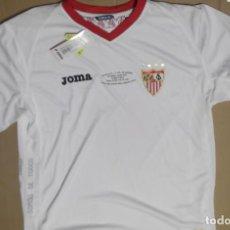 Coleccionismo deportivo - CAMISETA FUTBOL ORIGINAL JOMA OFICIAL SEVILLA FC CON ETIQUETA FABRICA FINAL COPA 2010 - 130618734