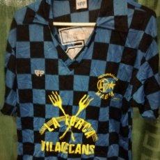 Coleccionismo deportivo: EFA 1980 VILADECANS VINTAGE L CAMISETA FUTBOL FOOTBALL SHIRT TRIKOT MAGLIA . Lote 130685359