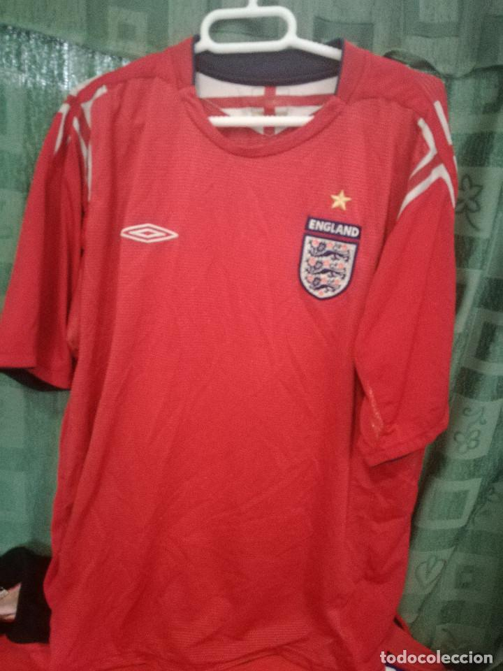 ENGLAND L CAMISETA FUTBOL FOOTBALL SHIRT TRIKOT MAGLIA (Coleccionismo  Deportivo - Ropa y Complementos - 336b8d788e6