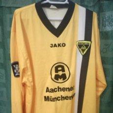 Coleccionismo deportivo: ALEMANIA AACHEN SICHONE MATCH WORN DEUTSCHLAND GERMANY CAMISETA FUTBOL FOOTBALL SHIRT TRIKOT MAGLIA . Lote 130777372