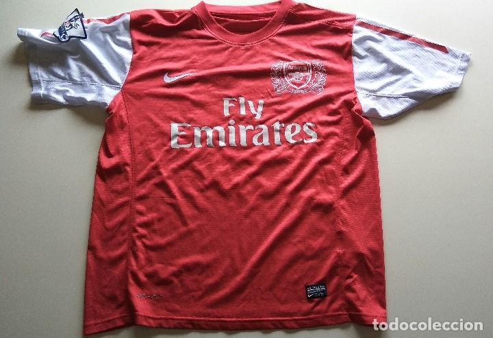 CAMISETA NIKE ARSENAL (Coleccionismo Deportivo - Ropa y Complementos -  Camisetas de Fútbol) f2cc5b461c536