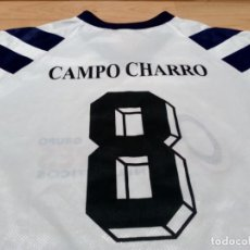 Coleccionismo deportivo: CAMISETA CF CAMPO CHARRO MATCH WORN. Lote 131091072