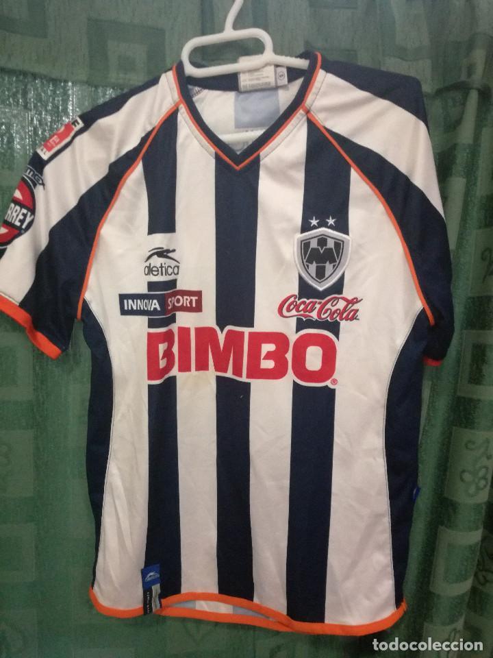 MONTERREY MEXICO NIÑO AGE 10 CAMISETA FUTBOL FOOTBALL SHIRT (Coleccionismo  Deportivo - Ropa y Complementos e6ee943848752