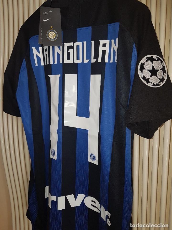 ee802e20487 Coleccionismo deportivo: Camiseta oficial casa Inter Milán 2018/2019 talla  L Naingollan - Foto