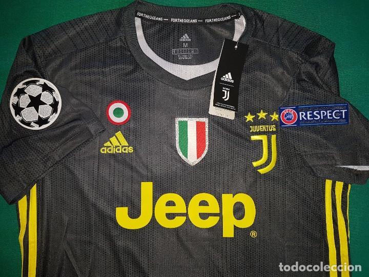 Ac Talla L Juventus Ronaldo Versión Champions Camiseta 2018 Reserva PXZuiOk
