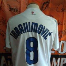 Coleccionismo deportivo: CAMISETA FUTBOL INTER MILAN #8 IBRAHIMOVIC 06-07 NIKE. Lote 131554902