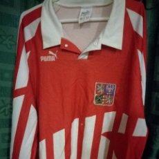 Collectionnisme sportif: MATCH WORN CZECH REPUBLIC XL USED ESTADO 8/10 CAMISETA FUTBOL FOOTBALL SHIRT . Lote 131776662