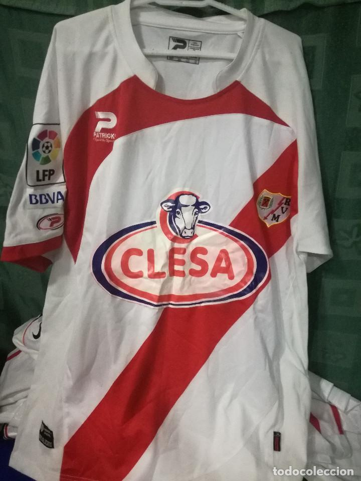 Rayo Vallecano XXL camiseta futbol football shirt, usado segunda mano