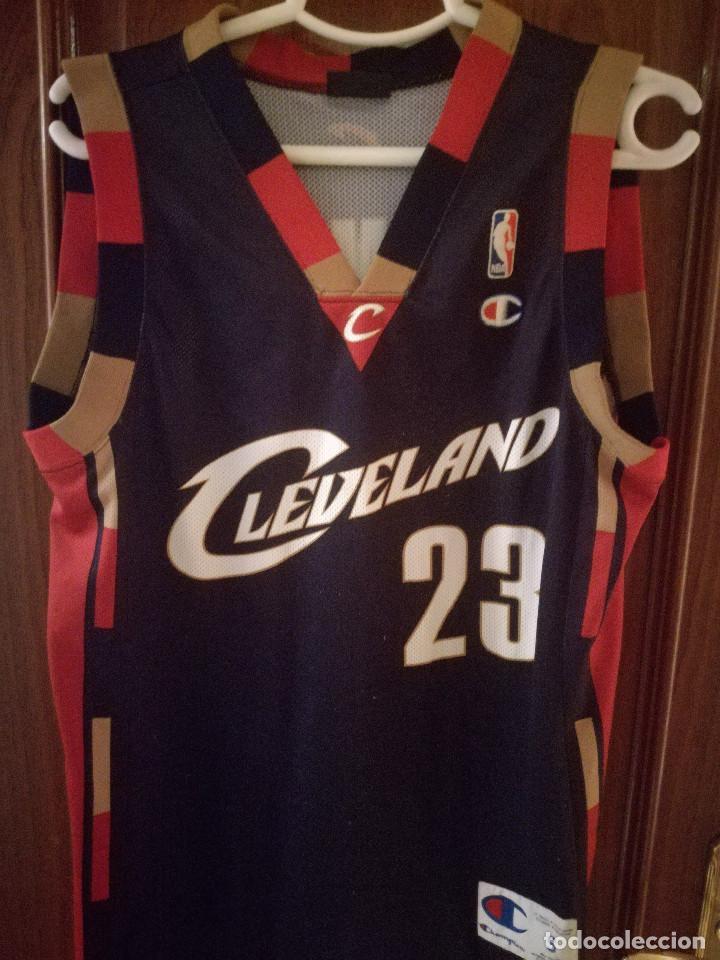 online store 5462f ae25b Cleveland Lebron james S nba Basket basquet Camiseta futbol football shirt  trikot
