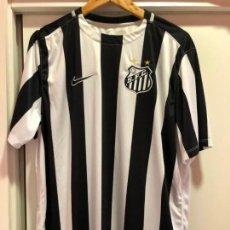 Coleccionismo deportivo: CAMISETA DE FUTBOL DEL SANTOS DE BRASIL - TALLA XL. Lote 132329810