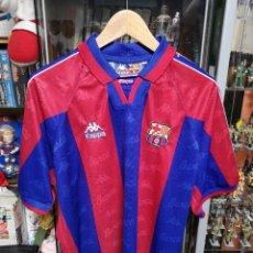 Coleccionismo deportivo: CAMISETA ORIGINAL F. C. BARCELONA KAPPA 1995 TALLA L. Lote 132603291