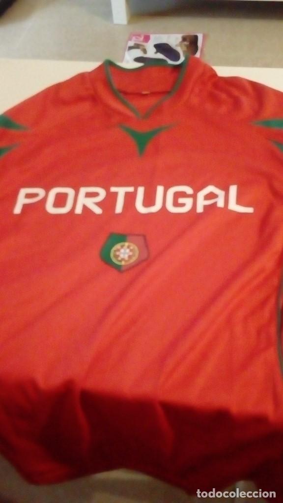 G-B259 CAMISETA DE FUTBOL ROJA DE PORTUGAL TALLA S (Coleccionismo Deportivo - Ropa y Complementos - Camisetas de Fútbol)
