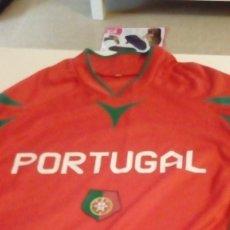 Coleccionismo deportivo: G-B259 CAMISETA DE FUTBOL ROJA DE PORTUGAL TALLA S. Lote 133159406