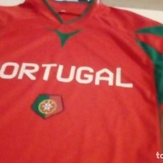Coleccionismo deportivo: G-B259 CAMISETA DE FUTBOL ROJA DE PORTUGAL TALLA M. Lote 153342434