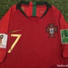Coleccionismo deportivo: CAMISETA OFICIAL CASA VERSION PLAYER SELECCIÓN DE PORTUGAL 2018 CRISTIANO . Lote 133171278