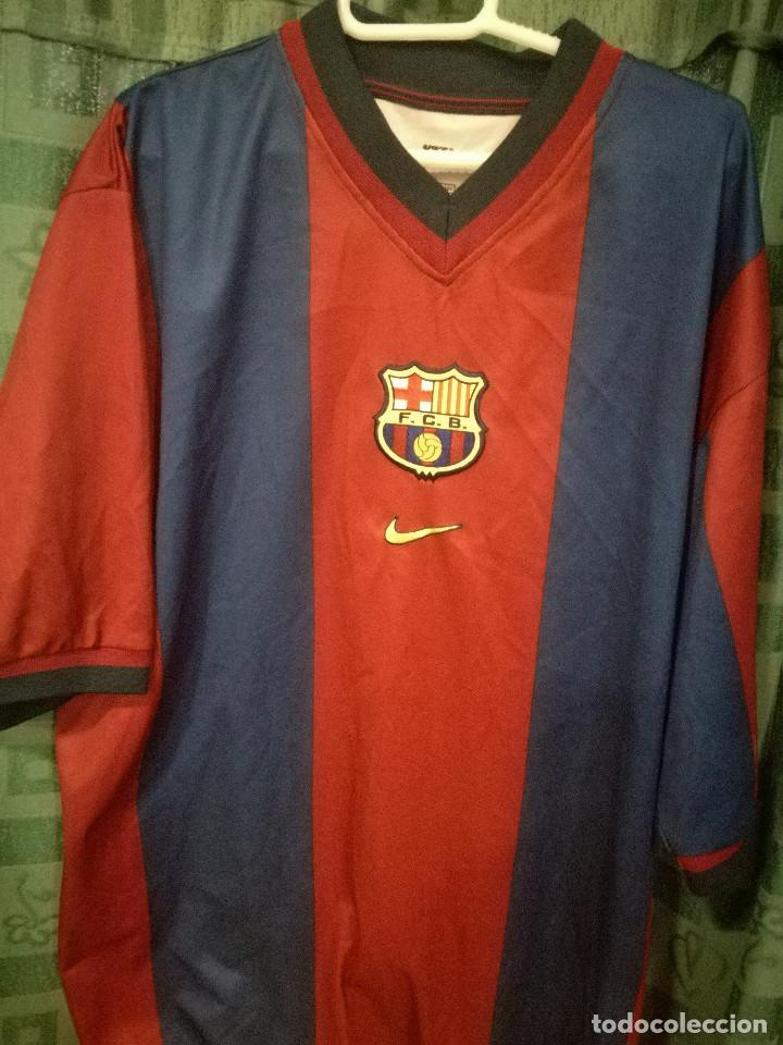 c99a759ecc6 FC BARCELONA B MATCH WORN XL CAMISETA FUTBOL FOOTBALL SHIRT FUSSBALL TRIKOT  (Coleccionismo Deportivo -