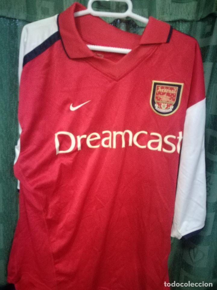 promo code c464c 27e12 ARSENAL L DREAMCAST SEGA Camiseta futbol football shirt fussball trikot