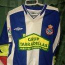Coleccionismo deportivo: RCD ESPANYOL S CAMISETA FUTBOL FOOTBALL SHIRT FUSSBALL TRIKOT. Lote 160071268