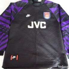 Collectionnisme sportif: CAMISETA DE PORTERO DEL ARSENAL FC. NIKE. TEMPORADA 1995 1996. DAVID SEAMAN. 340GR. Lote 175967879