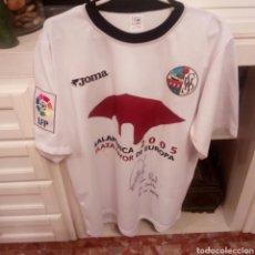 Coleccionismo deportivo: CAMISETA FUTBOL MATCH WORN U.D.SALAMANCA TEMPORADA 2003/04 DORSAL 23 DAVID CAÑAS, FIRMADA. Lote 133264862