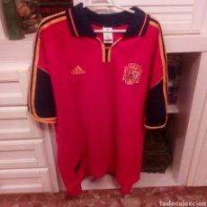 Coleccionismo deportivo: CAMISETA FUTBOL ESPAÑA SELECCION ESPAÑOLA MARCA ADIDAS. Lote 133265111