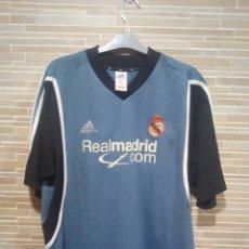 Coleccionismo deportivo: CAMISETA DE FUTBOL REAL MADRID, ZIDANE N°5 A LA ESPALDA, TALLA L G, 2001/2002. Lote 133496009