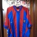 Coleccionismo deportivo: CAMISETA FÚTBOL BARCELONA NIKE 2002-2003. Lote 133499023
