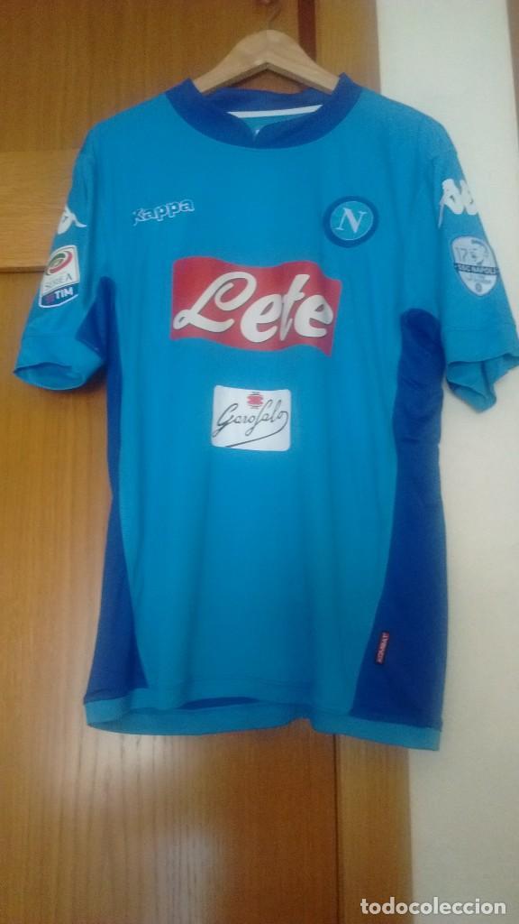 comprar camiseta Napoli futbol
