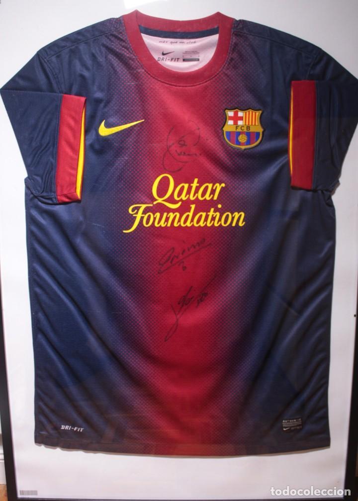 camiseta f.c. barcelona 2012-2013 original. fir - Comprar Camisetas ... 86c6e1699bd