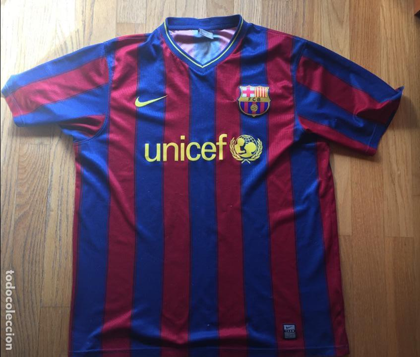 Camiseta Fc Barcelona Unicef Buy Football T Shirts At Todocoleccion 133608106