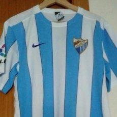 Coleccionismo deportivo: CAMISETA OFICIAL CASA HOME MÁLAGA CF 2015/2016 TALLA L. Lote 133862570