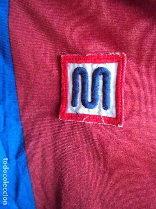 Coleccionismo deportivo: (F-180941)CAMISETA MIGUEL ANGEL NADAL - F.C.BARCELONA - MEYBA - DORSAL 15 - 91-92 - MATCH WORN - Foto 4 - 133904290