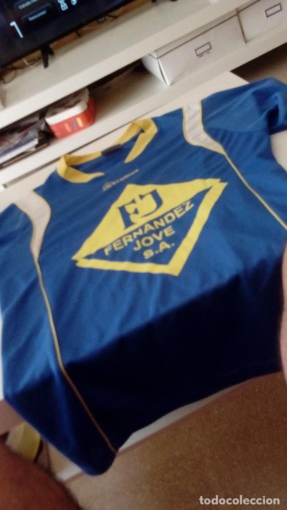G-KIKO54 CAMISETA DE FUTBOL AZUL TALLA S MARCA KROMEX VER FOTOS (Coleccionismo Deportivo - Ropa y Complementos - Camisetas de Fútbol)