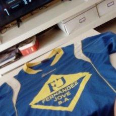 Coleccionismo deportivo: G-KIKO54 CAMISETA DE FUTBOL AZUL TALLA S MARCA KROMEX VER FOTOS. Lote 134006702