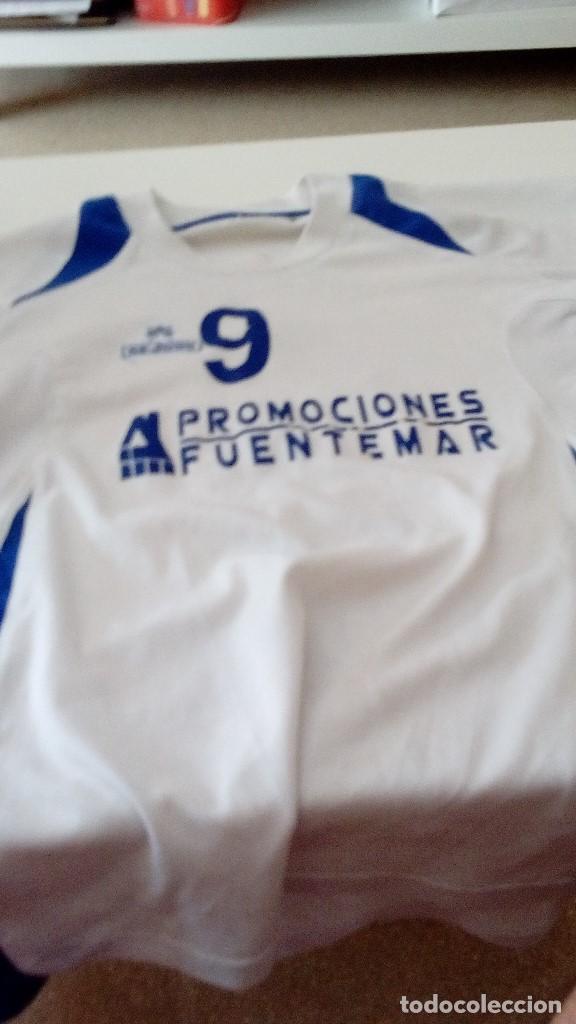 G-KIKO54 CAMISETA DE FUTBOL BLANCA TALLA CHICA AUNQUE NO APARECE MARCA CEJUDO VER FOTOS (Coleccionismo Deportivo - Ropa y Complementos - Camisetas de Fútbol)