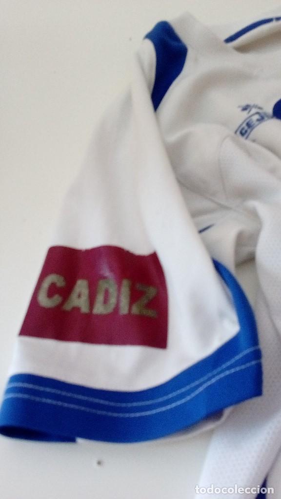 Coleccionismo deportivo: G-KIKO54 CAMISETA DE FUTBOL BLANCA TALLA CHICA AUNQUE NO APARECE MARCA CEJUDO VER FOTOS - Foto 2 - 134006778
