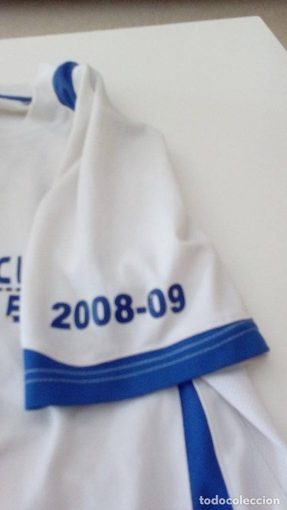 Coleccionismo deportivo: G-KIKO54 CAMISETA DE FUTBOL BLANCA TALLA CHICA AUNQUE NO APARECE MARCA CEJUDO VER FOTOS - Foto 3 - 134006778