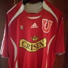 Collectionnisme sportif: UNIVERSIDAD DE CHILE L CAMISETA FUTBOL FOOTBALL SHIRT. Lote 134007953