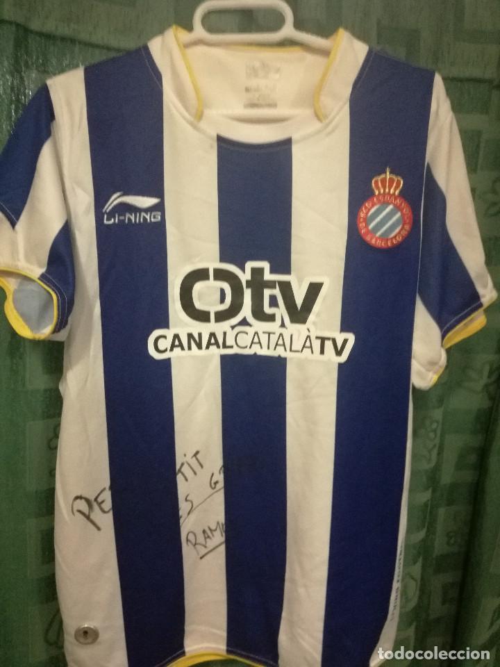 competitive price 4dedc 3b7af Rcd espanyol s rare sponsor team signed camise - Sold ...