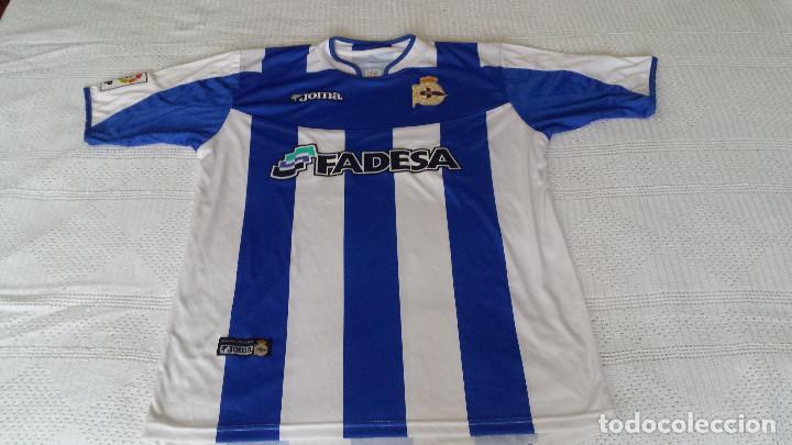 9f76a871b CAMISETA DEL DEPORTIVO DE LA CORUÑA (Coleccionismo Deportivo - Ropa y  Complementos - Camisetas de