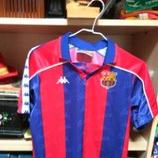 Coleccionismo deportivo: CAMISETA F C BARCELONA KAPPA TAMAÑO 10 NIÑO. Lote 79179413